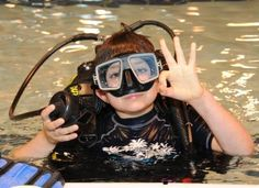 Scuba diving is also for kids!  Action Scuba Montreal