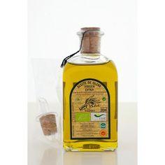 Frasca 250ml ecológico con D.O aceite de oliva para detalle de boda o eventos