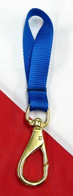 3inch Brass  Swivel Gate snap clip wrap scuba dive equipment Blue Trident GC06 #Trident