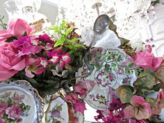 Penny's Vintage Home: How to Make a China Tea Cup Wreath