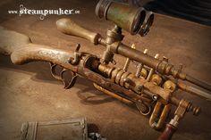Steampunk Rifle - Ghost Hunter by steamworker on DeviantArt