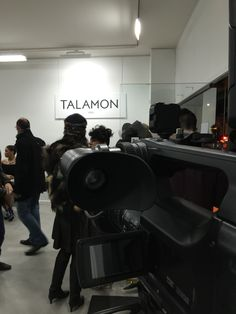 Talamon defile fashion week home