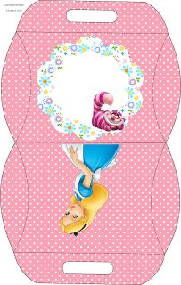 All kinds of free Alice in Wonderland birthday printables.