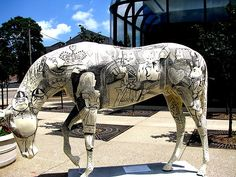 Horse Statues in 2020 Horses, Horse sculpture, Painted pony