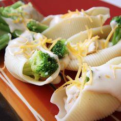 Chicken Broccoli Shells Recipe