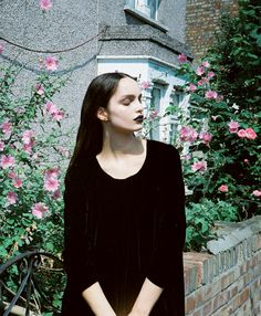 """Wednesday, I'm in love'    Luma Grothe by Jolijn Snijders for I Love Fake F/W 2012"