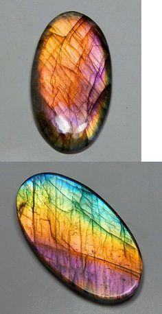Labradorite 164393: 83 Ct Natural Purple Spectrolite Labradorite Oval Cabochon Finland Gemstone U56 -> BUY IT NOW ONLY: $59.99 on eBay!