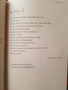I love my love -reyna biddy Self Love Qoutes, Love Book Quotes, Favorite Book Quotes, Me Quotes, Unique Words, Love Words, Self Love Books, Pillow Thoughts, Postive Quotes