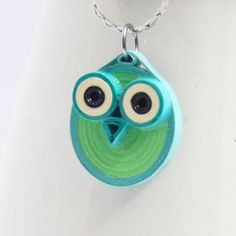 30% off SALE Neon Owl Pendant Eco Friendly Fashion par HoneysHive