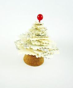 Christmas Paper Tree DIY