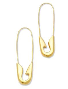 10 Punk Items That Will Rock Your Closet: Tom Binns's Safety Pin Earrings