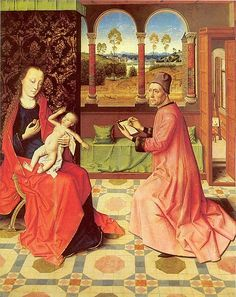 File:Dieric Bouts - Saint Luke painting the Virgin.jpg - Wikimedia Commons