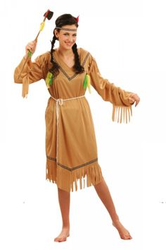 Simpele jurk, indiaan Wild West, Costumes, Summer Dresses, Native Americans, Cowboys, Outfits, Style, Fashion, Carnival