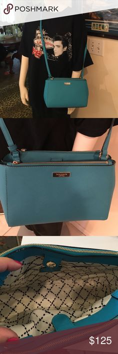 Kate spade of New York Cute bag holds a full size wallet it's great for running around holds a lot not heavy when filled kate spade Bags Crossbody Bags