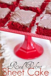 I can't wait to try this!  It would be perfect for Valentines Day if my family liked red velvet!