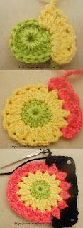 Marifetane- İğne Oyası ve Açıklamalı modeller: Tığ İşi Motif Örneği ve Açıklaması crochet motif patterns
