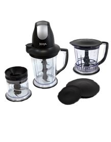 Ninja® Kitchen Products Blend, Process, Juice & More!   I love these belnders.  They will make fruit sorbet in seconds and blend the crap out of ice for great frozen drinks.