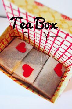 blog de coses: DIY | TEA BOX