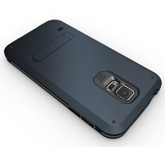 Samsung Galaxy S5 Strong Armor Hybrid with Stand - Navy Blue