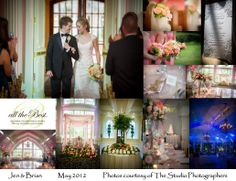 Rent an estate for your wedding in Allentown. Put the focus on the bride and groom with a raised sweetheart table under a canopy of gossamer and flowers. Photos courtesy of The Studio Photographers. Wedding Coordinator, Wedding Planner, Destination Wedding, Photographic Studio, Sweetheart Table, Celebrity Weddings, Corporate Events, Canopy, Special Events