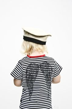 YmamaY Sonny tee: Hugo galleries, style, shops, shirts, ymamay sonni, sonni tee, kids, black, shirt van