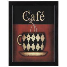 Quadro Coffe Break COFFE-BREAK 3VRD 26X34 - Tok