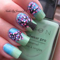 OMG.. These are amazing!  Credit @nailsbyjennabl - @fashion_lovenails- #webstagram