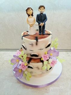 Wedding fun cake by majana75