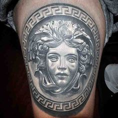 male medusa | 80 Medusa Tattoo Designs For Men - Snakes To Stone