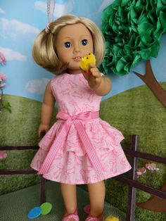 18 inch doll clothes American Girl doll clothes by SewCuteJune, $16.99 etsy.com/sewcutejune