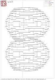 Risultati immagini per kirigami pdf schemi facili