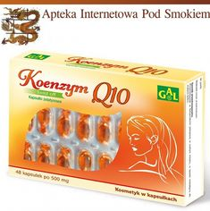 500 mg 48 kaps.Koenzym 500 mg 48 kaps. E 500, Ants, Hair Beauty, Wax, Ant, Cute Hair