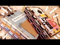 DIY: How I Made My One Week Sketchbook//Piano Hinge Binding - YouTube