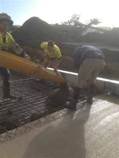 Suppling Concrete for a new Weight Bridge construction at  Euroa Quarry  www.mawsons.com.au