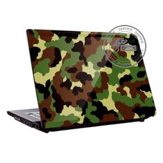 Camouflage laptop cover