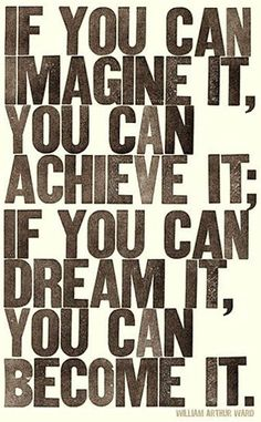 If you can imagine it, you can achieve it #addictionrecovery #inspiration