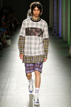 MSGM Spring 2018 Menswear Fashion Show Collection