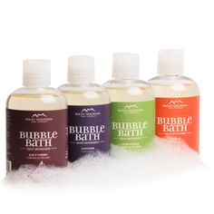 Sulfate-Free Bubble Bath from Rocky Mountain Soap. So awesome to use a bubble bath that doesn't have SLS or SLES in it, and the bubbles are awesome!