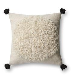 Ivory & Black Pillow - Default Title (Designer)