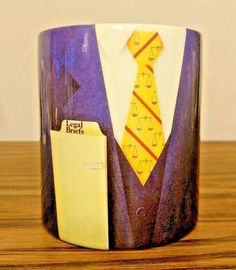 Lawyer Coffee Mug Legal Briefs Cup Suit Scales Justice The Creative Source 1992 #TheCreativeSource1992