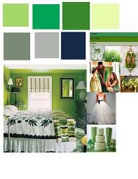 gray and green rooms