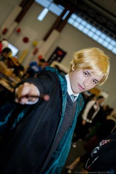 draco malfoy Draco Malfoy Costume, Slytherin House, Costumes, Slytherin, Dress Up Clothes, Fancy Dress, Men's Costumes, Suits
