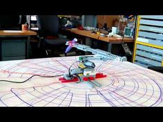 ▶ Drawbot with Lego WeDo and Scratch - YouTube