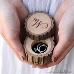 Today on The Bridal Boutique: Rustic Ring Bearer Box by Black Label Decor! Check it out!
