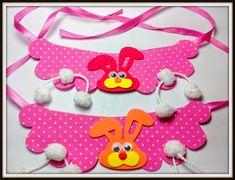 Gargantilha maxi colar de Páscoa com aplique de coelho para cães e gatos   Tamanho: único 18cm, fita: 60cm   Pacotes: 12 unidades    Pra...