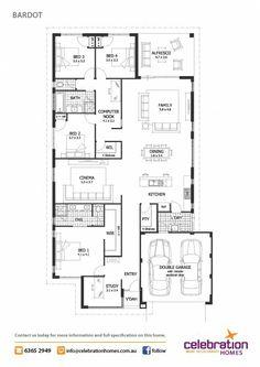 Display Homes Perth | Bardot House Design | Celebration Homes