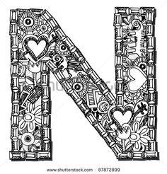 Doodle Letter Designs - Bing Images