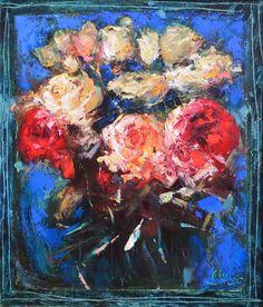 "Alex Sporski ""Evening Bouquet"" 60x70 Oil On Canvas sporskiart.com"