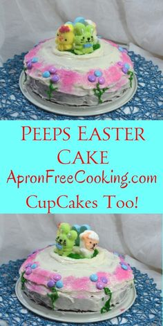 Easter Cake to make with kids from www.ApronFreeCooking.com