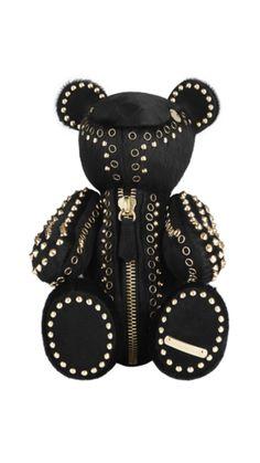 The glam, rocker, luxury teddy bear from Burberry